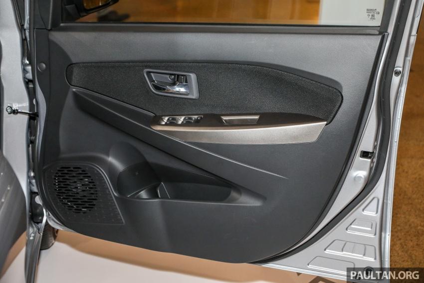 Perodua Myvi 2018 dilancarkan di Malaysia – model generasi baharu, 1.3L dan 1.5L, bermula RM44,300 Image #739893