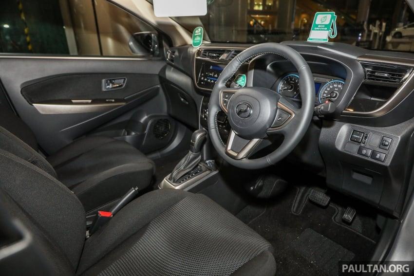 Perodua Myvi 2018 dilancarkan di Malaysia – model generasi baharu, 1.3L dan 1.5L, bermula RM44,300 Image #739873