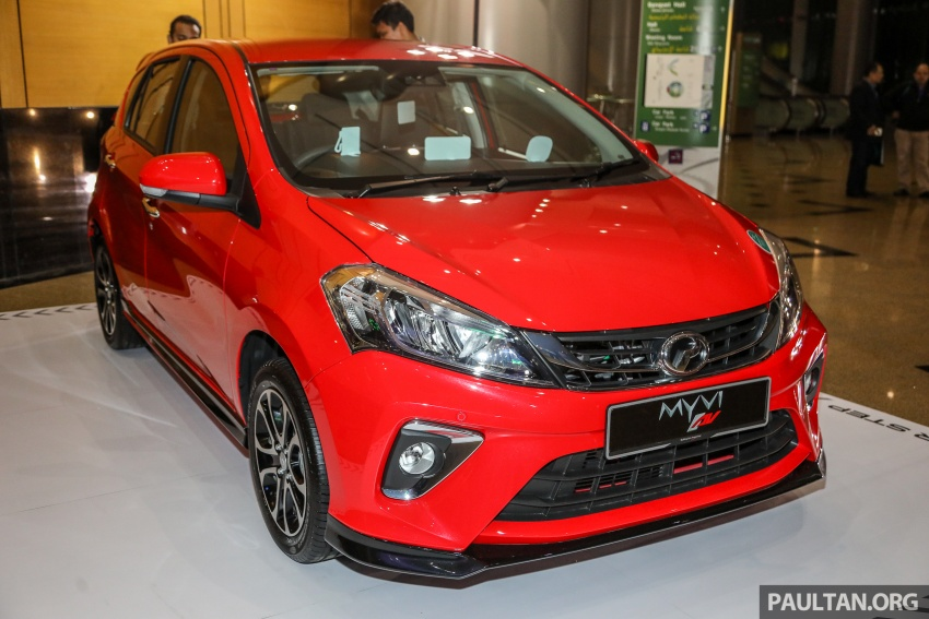 2018 Perodua Myvi officially launched in Malaysia – now with full details and pics, priced from RM44,300 Image #739610