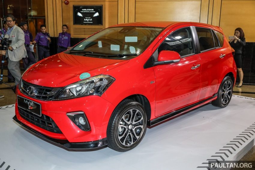 2018 Perodua Myvi officially launched in Malaysia – now with full details and pics, priced from RM44,300 Image #739611