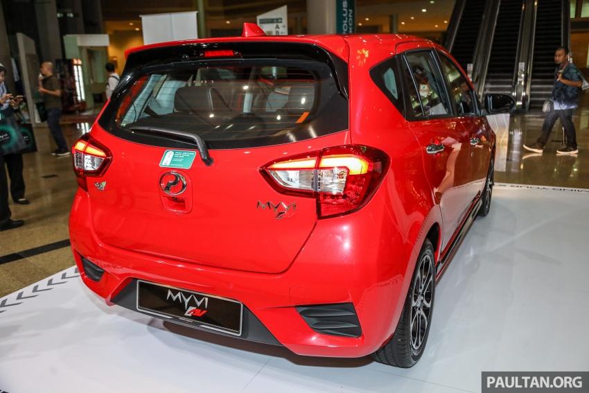 Perodua Myvi 2018 dilancarkan di Malaysia – model generasi baharu, 1.3L dan 1.5L, bermula RM44,300 Image #739371