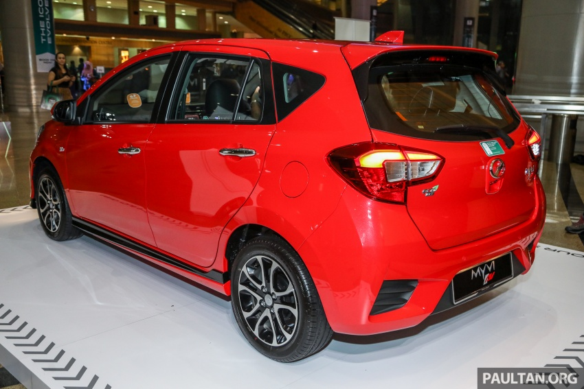 2018 Perodua Myvi officially launched in Malaysia – now with full details and pics, priced from RM44,300 Image #739613