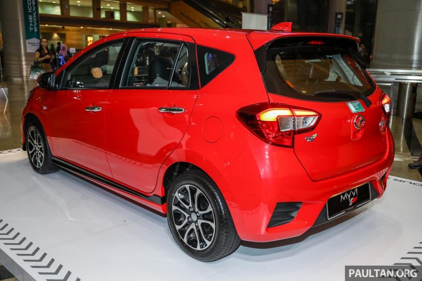 Perodua Myvi 2018 dilancarkan di Malaysia – model generasi baharu, 1.3L dan 1.5L, bermula RM44,300 Image #739372