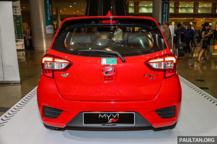 Perodua Myvi 2018 dilancarkan di Malaysia – model generasi baharu, 1.3L dan 1.5L, bermula RM44,300 Image #739375
