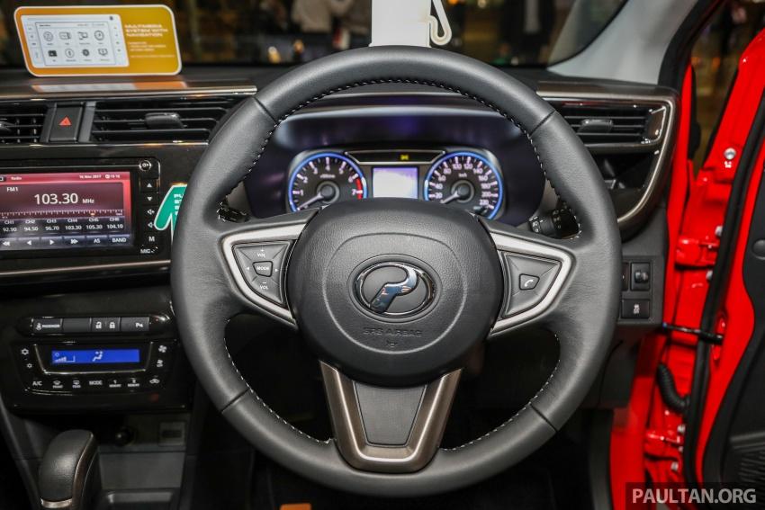 Perodua Myvi 2018 dilancarkan di Malaysia – model generasi baharu, 1.3L dan 1.5L, bermula RM44,300 Image #739398