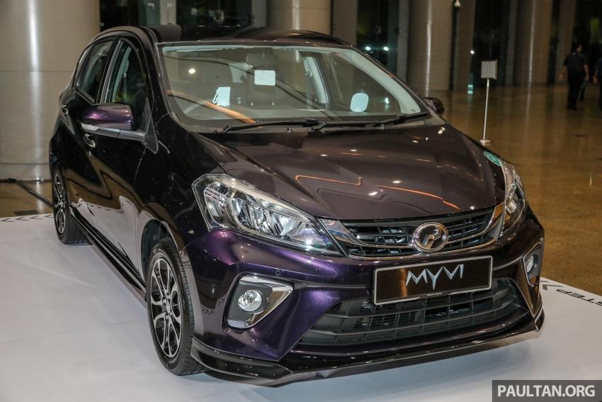Perodua Myvi 2018 dilancarkan di Malaysia – model generasi baharu, 1.3L dan 1.5L, bermula RM44,300 Image #739457
