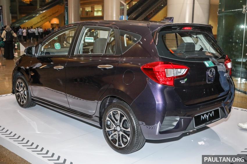 Perodua Myvi 2018 dilancarkan di Malaysia – model generasi baharu, 1.3L dan 1.5L, bermula RM44,300 Image #739463