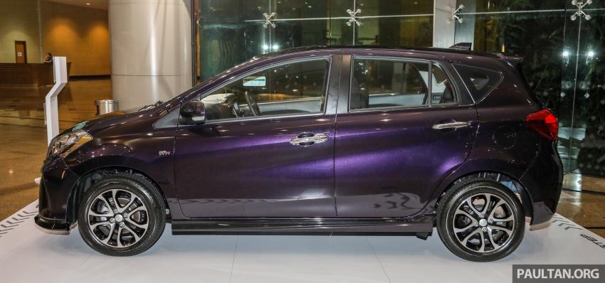 Perodua Myvi 2018 dilancarkan di Malaysia – model generasi baharu, 1.3L dan 1.5L, bermula RM44,300 Image #739465