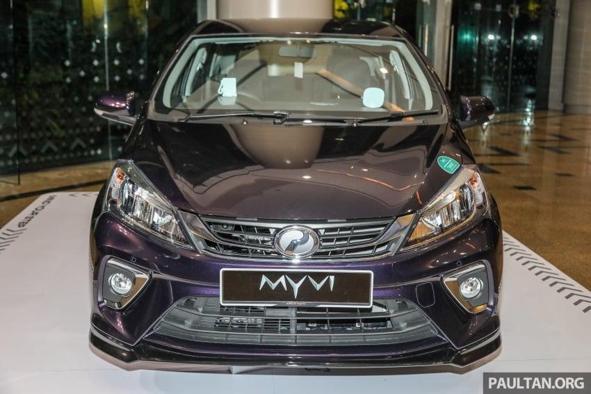 Perodua Myvi 2018 dilancarkan di Malaysia – model generasi baharu, 1.3L dan 1.5L, bermula RM44,300 Image #739467