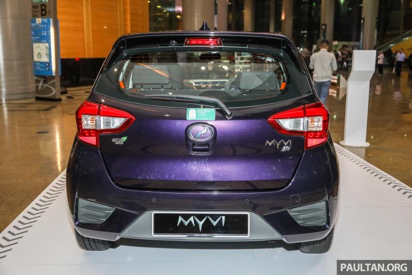 Perodua Myvi 2018 dilancarkan di Malaysia – model generasi baharu, 1.3L dan 1.5L, bermula RM44,300 Image #739470