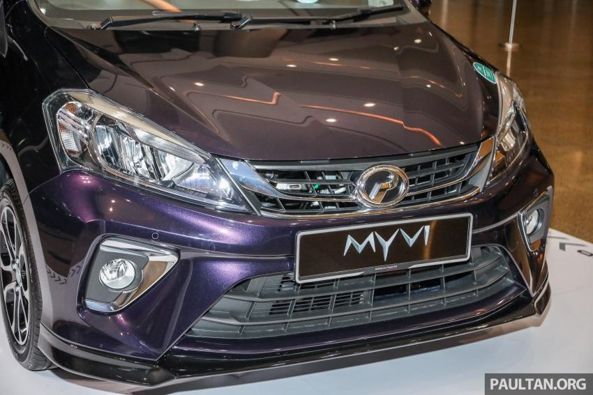 Perodua Myvi 2018 dilancarkan di Malaysia – model generasi baharu, 1.3L dan 1.5L, bermula RM44,300 Image #739472
