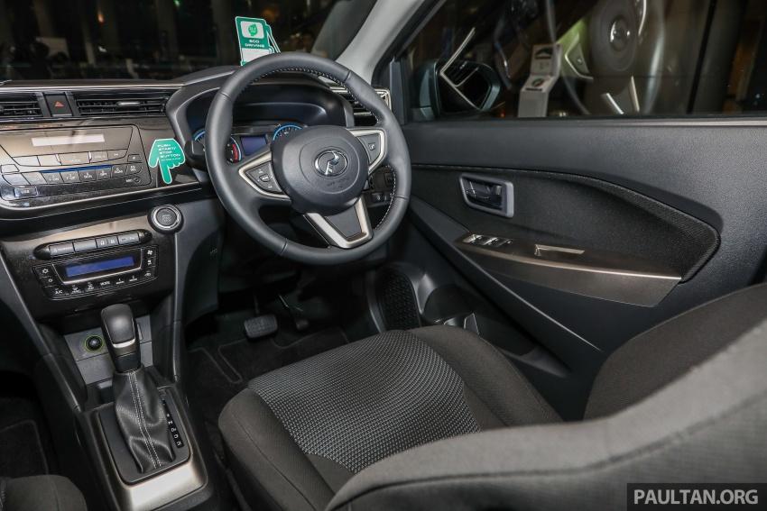 Perodua Myvi 2018 dilancarkan di Malaysia – model generasi baharu, 1.3L dan 1.5L, bermula RM44,300 Image #739564