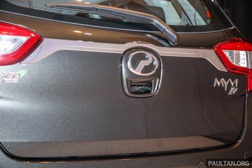 Perodua Myvi 2018 dilancarkan di Malaysia – model generasi baharu, 1.3L dan 1.5L, bermula RM44,300 Image #739678