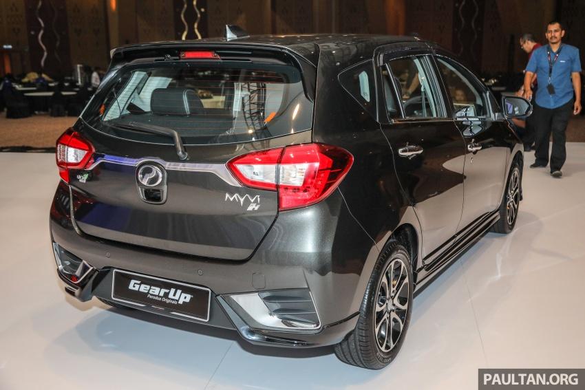 Perodua Myvi 2018 dilancarkan di Malaysia – model generasi baharu, 1.3L dan 1.5L, bermula RM44,300 Image #739639