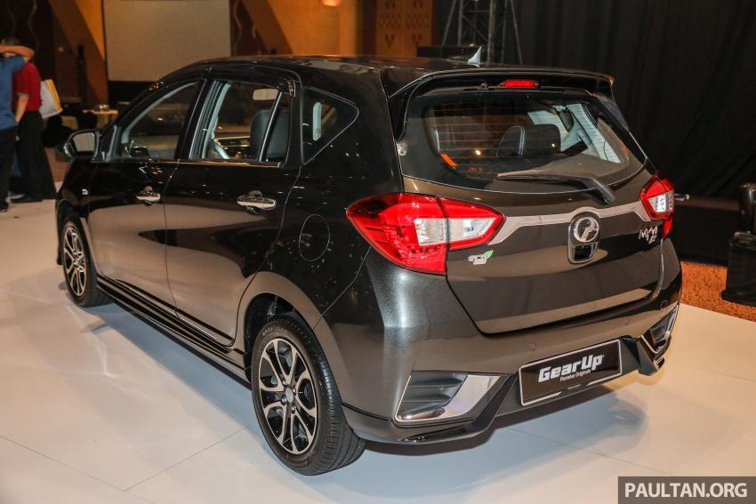 Perodua Myvi 2018 dilancarkan di Malaysia – model generasi baharu, 1.3L dan 1.5L, bermula RM44,300 Image #739642