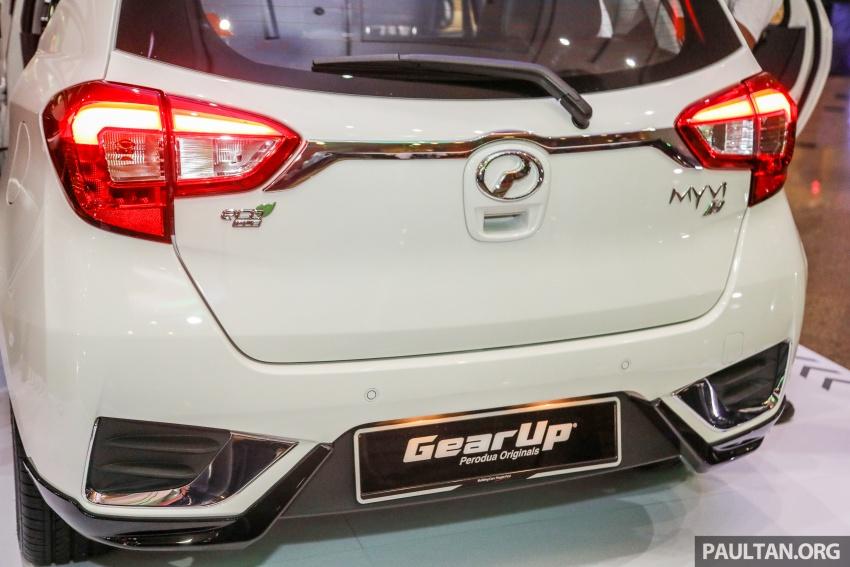 Perodua Myvi 2018 dilancarkan di Malaysia – model generasi baharu, 1.3L dan 1.5L, bermula RM44,300 Image #739277