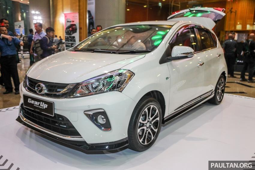 Perodua Myvi 2018 dilancarkan di Malaysia – model generasi baharu, 1.3L dan 1.5L, bermula RM44,300 Image #739240