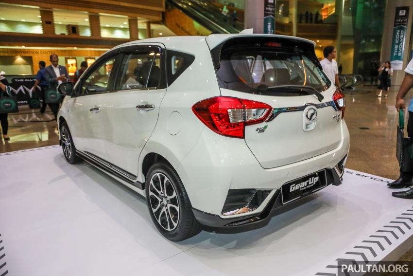 Perodua Myvi 2018 dilancarkan di Malaysia – model generasi baharu, 1.3L dan 1.5L, bermula RM44,300 Image #739245