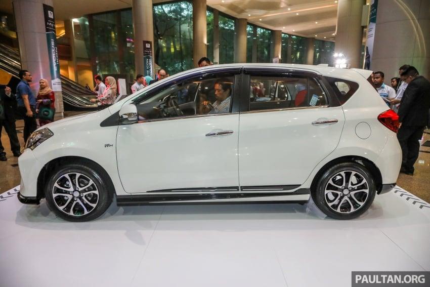 Perodua Myvi 2018 dilancarkan di Malaysia – model generasi baharu, 1.3L dan 1.5L, bermula RM44,300 Image #739246