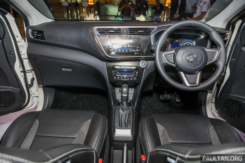 Perodua Myvi 2018 dilancarkan di Malaysia – model generasi baharu, 1.3L dan 1.5L, bermula RM44,300 Image #739335