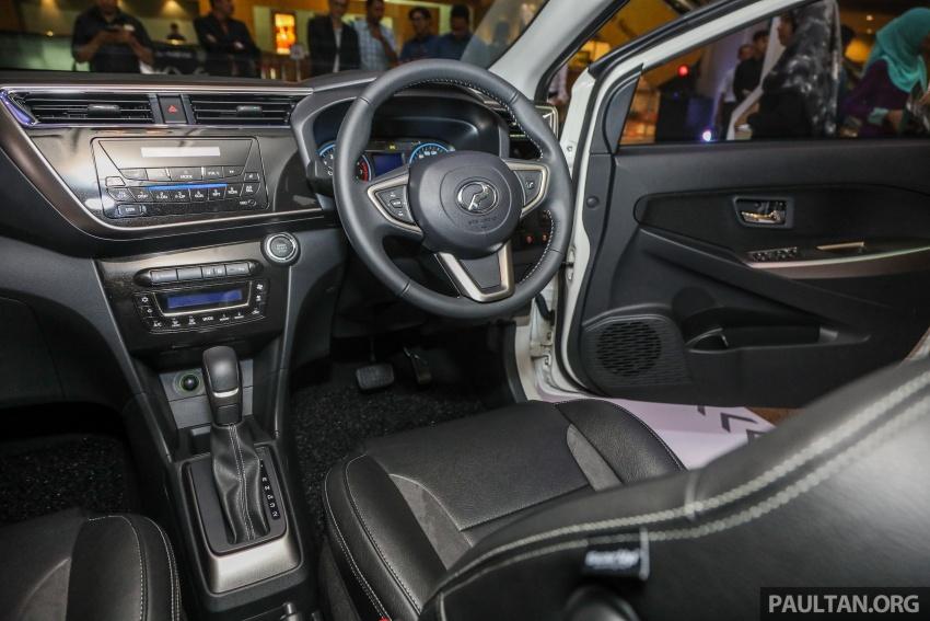Perodua Myvi 2018 dilancarkan di Malaysia – model generasi baharu, 1.3L dan 1.5L, bermula RM44,300 Image #739337