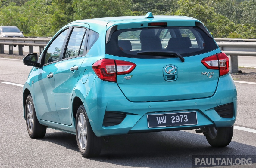 DRIVEN: New 2018 Perodua Myvi – first impressions Image #740496