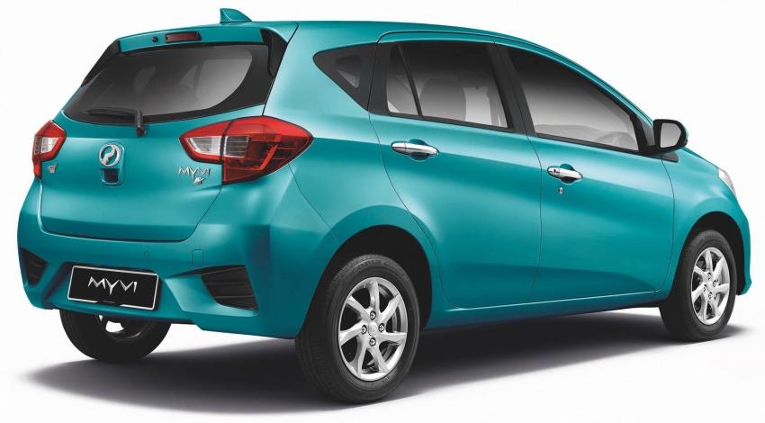 Perodua Myvi 2018 dilancarkan di Malaysia – model generasi baharu, 1.3L dan 1.5L, bermula RM44,300 Image #738633