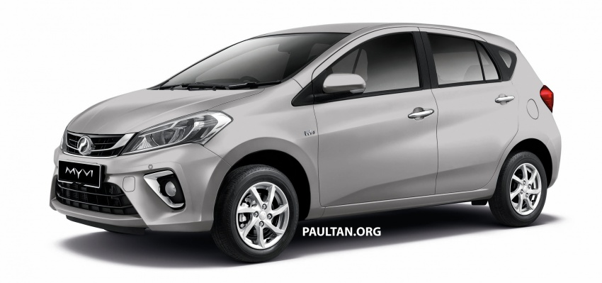 2018 Perodua Myvi officially launched in Malaysia – now with full details and pics, priced from RM44,300 Image #738960