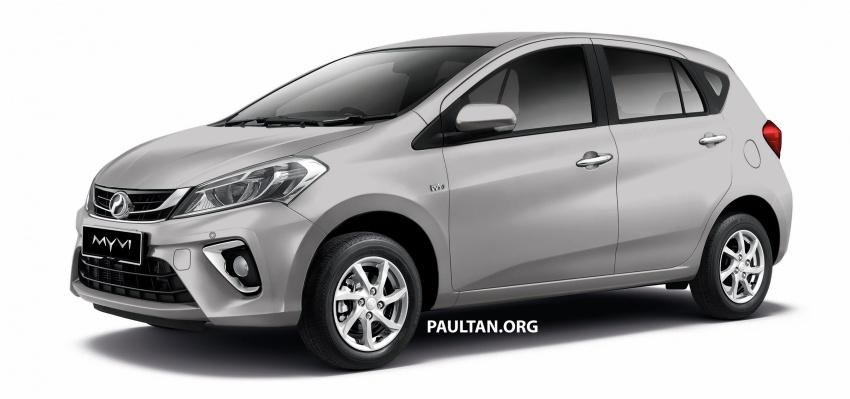Perodua Myvi 2018 dilancarkan di Malaysia – model generasi baharu, 1.3L dan 1.5L, bermula RM44,300 Image #738988