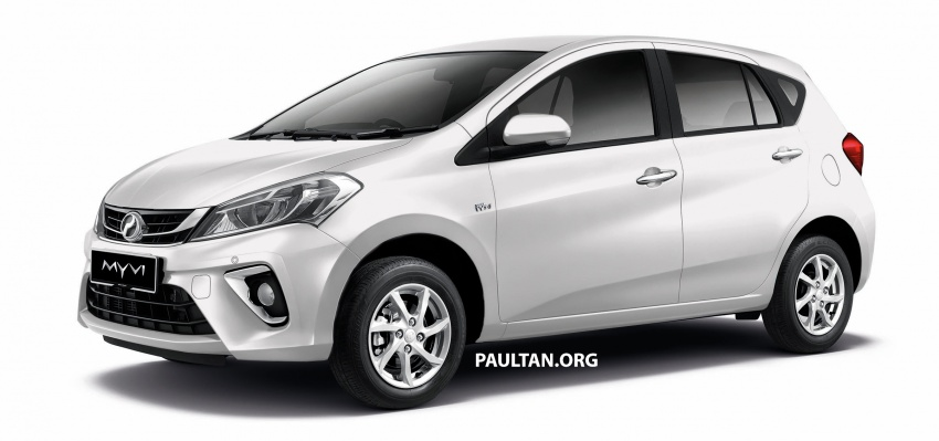 2018 Perodua Myvi officially launched in Malaysia – now with full details and pics, priced from RM44,300 Image #738961