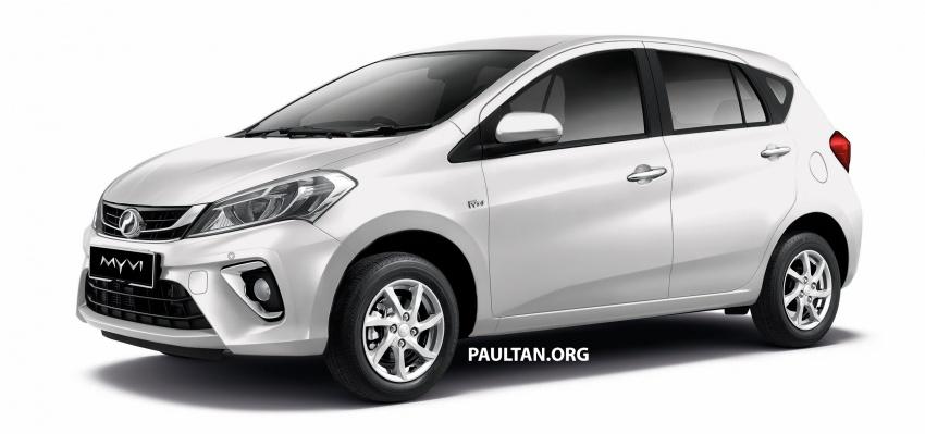 Perodua Myvi 2018 dilancarkan di Malaysia – model generasi baharu, 1.3L dan 1.5L, bermula RM44,300 Image #738989