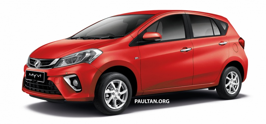 2018 Perodua Myvi officially launched in Malaysia – now with full details and pics, priced from RM44,300 Image #738963
