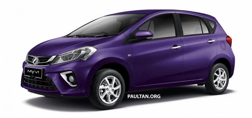 2018 Perodua Myvi officially launched in Malaysia – now with full details and pics, priced from RM44,300 Image #738964