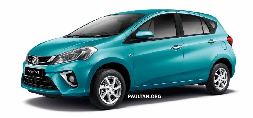 Perodua Myvi 2018 dilancarkan di Malaysia – model generasi baharu, 1.3L dan 1.5L, bermula RM44,300 Image #738993