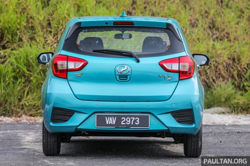 GALERI: Perodua Myvi 2018 – 1.5 Advance vs. 1.3 Premium X; model yang mana beri lebih banyak nilai? Image #740928