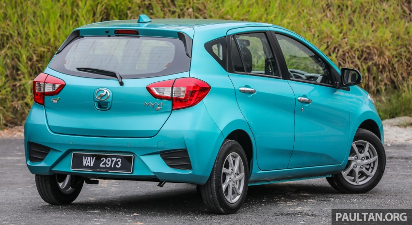 GALLERY: 2018 Perodua Myvi 1.3 Premium X vs 1.5 Advance – which new variant should you go for? Image #741388