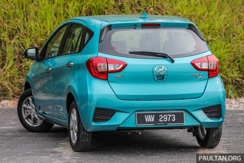 GALERI: Perodua Myvi 2018 – 1.5 Advance vs. 1.3 Premium X; model yang mana beri lebih banyak nilai? Image #740915