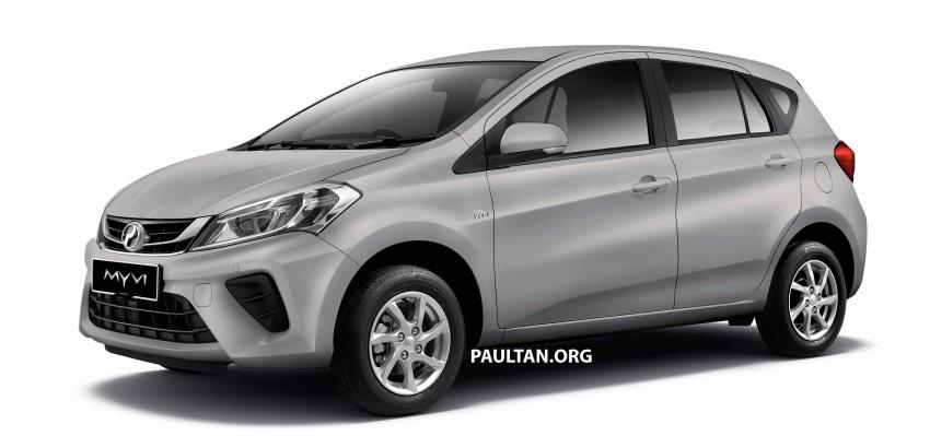 Perodua Myvi 2018 dilancarkan di Malaysia – model generasi baharu, 1.3L dan 1.5L, bermula RM44,300 Image #739009