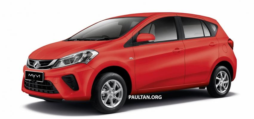 Perodua Myvi 2018 dilancarkan di Malaysia – model generasi baharu, 1.3L dan 1.5L, bermula RM44,300 Image #739012