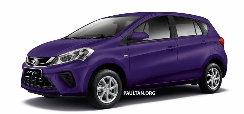 Perodua Myvi 2018 dilancarkan di Malaysia – model generasi baharu, 1.3L dan 1.5L, bermula RM44,300 Image #739014