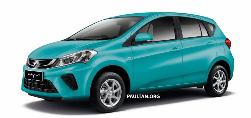 Perodua Myvi 2018 dilancarkan di Malaysia – model generasi baharu, 1.3L dan 1.5L, bermula RM44,300 Image #739016