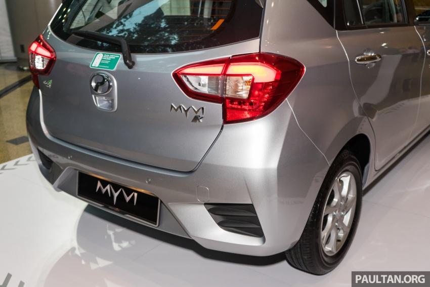 Perodua Myvi 2018 dilancarkan di Malaysia – model generasi baharu, 1.3L dan 1.5L, bermula RM44,300 Image #739433
