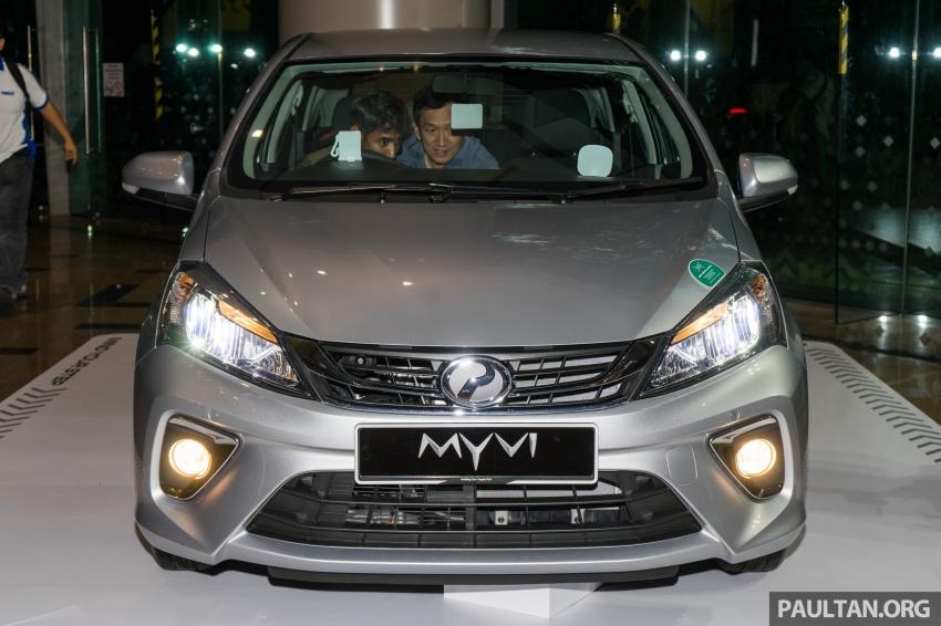 Perodua Myvi 2018 dilancarkan di Malaysia – model generasi baharu, 1.3L dan 1.5L, bermula RM44,300 Image #739425