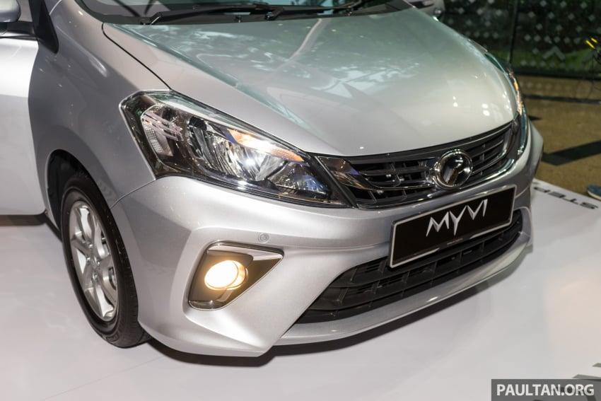 Perodua Myvi 2018 dilancarkan di Malaysia – model generasi baharu, 1.3L dan 1.5L, bermula RM44,300 Image #739428