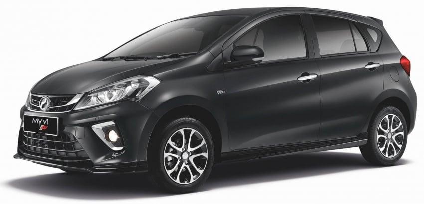Perodua Myvi 2018 dilancarkan di Malaysia – model generasi baharu, 1.3L dan 1.5L, bermula RM44,300 Image #738637