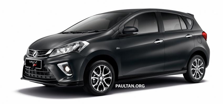Perodua Myvi 2018 dilancarkan di Malaysia – model generasi baharu, 1.3L dan 1.5L, bermula RM44,300 Image #738999