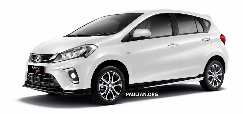 Perodua Myvi 2018 dilancarkan di Malaysia – model generasi baharu, 1.3L dan 1.5L, bermula RM44,300 Image #739001