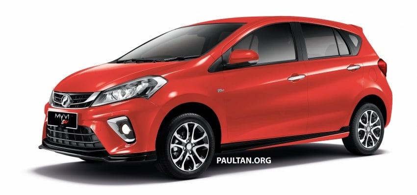 Perodua Myvi 2018 dilancarkan di Malaysia – model generasi baharu, 1.3L dan 1.5L, bermula RM44,300 Image #739002