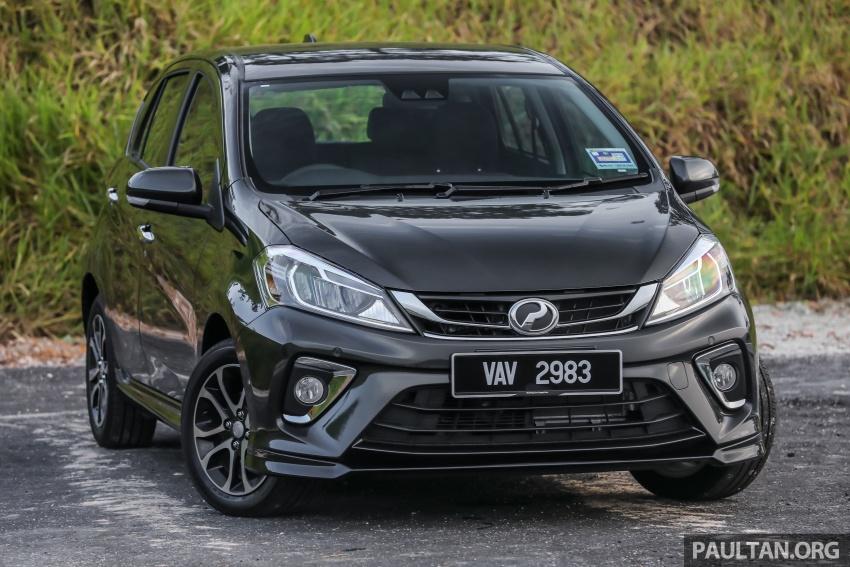 GALLERY: Perodua Myvi Advance 1.5 – 2018 vs 2015 Image #741468
