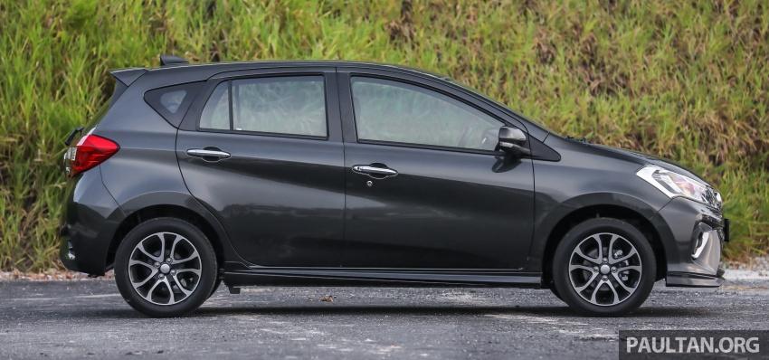 GALLERY: Perodua Myvi Advance 1.5 – 2018 vs 2015 Image #741488